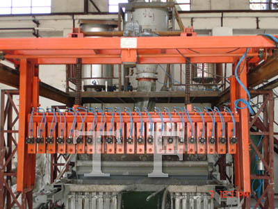 Gypsum block production line